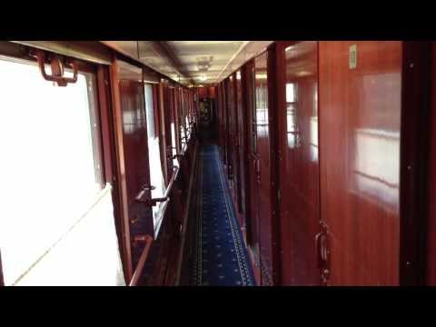 Inside Tour of Train Beijing to Moscow - Тур Поезд Пекин - Москва
