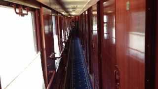 Inside Tour of Train Beijing to Moscow - Тур Поезд Пекин - Москва