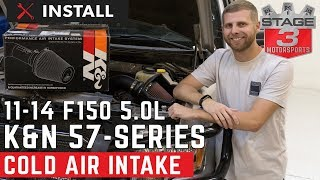 2011-2014 F150 5.0L K&N 57-Series Cold Air Intake Install