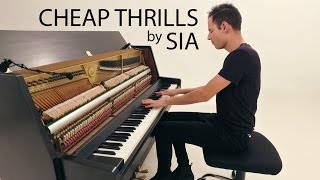 Sia Cheap Thrills Piano Cover Peter Bence