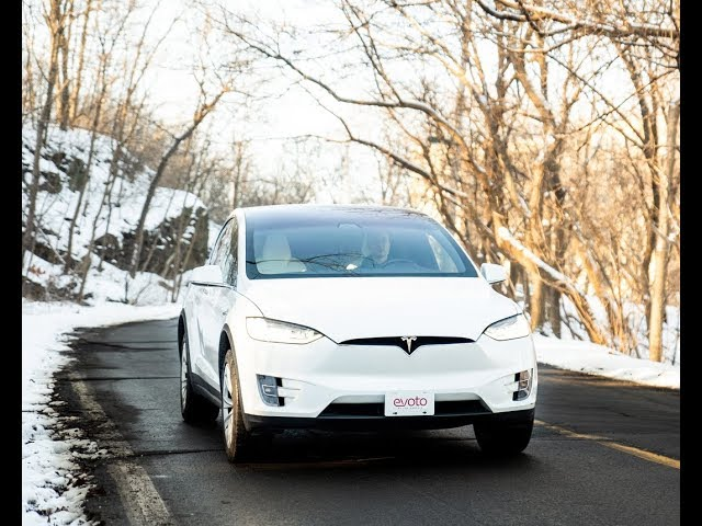 Evoto Rentals - Tesla Model X Spotlight