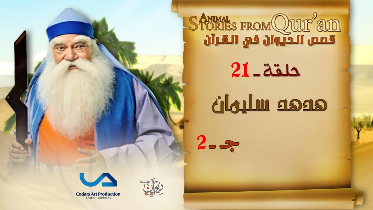 قصص الحيوان في القرآن | الحلقة 21 | هدهد سليمان - ج 2 | Animal Stories from Qur'an