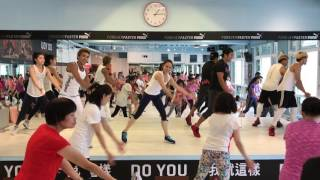 潘若迪&星級教練團隊_FunkyDance 上課直播   Live-streamed Fitness dance class - 2017 JULY_by Eddie Pan