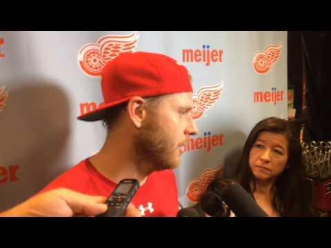 Red Wings' Steve Ott on team toughness