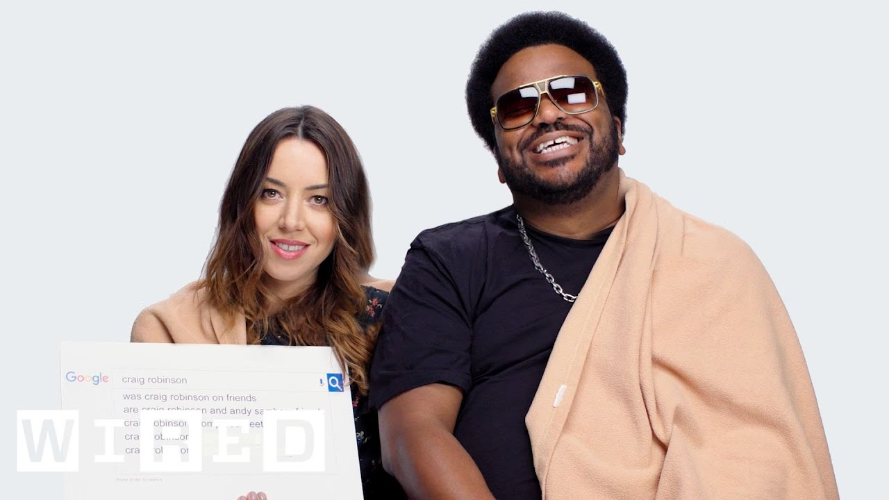 Aubrey Plaza & Craig Robinson Answer the Web's Most Searched Questions | WIRED