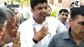 Haryana polls: JJP leader Dushyant Chautala alleges bogus voting in his constituency