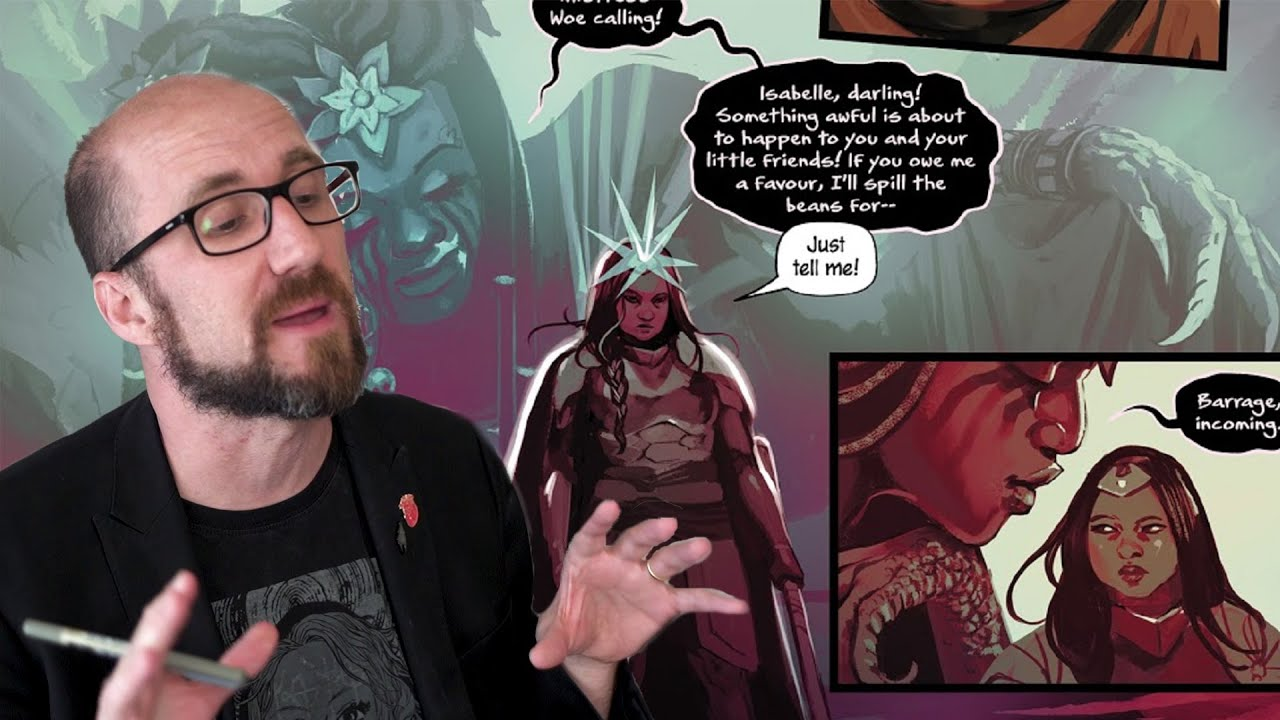 Watch Kieron Gillen explain how to fill out a character