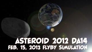 Asteroid 2012 DA14 - NASA Eyes on the Solar System