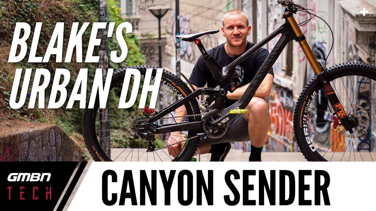 c575d089cef Blakes Canyon Sender Downhill Pro Bike | Valparaiso Cerro Abajo Urban DH  Race Bike