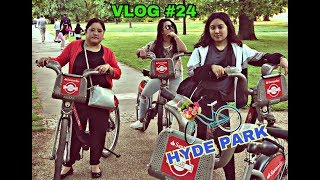 COOL FOR THE SUMMER / HYDE PARK LONDON VLOG #24