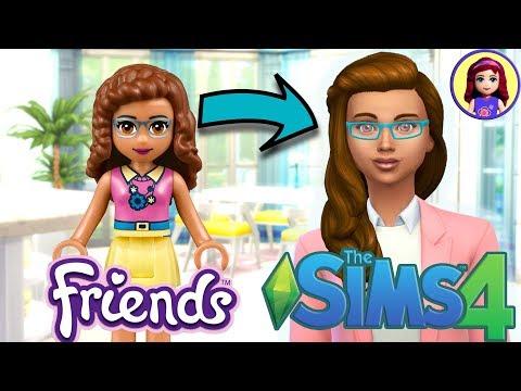 Lego Friends Olivia As A Sim (finally)! Sims 4 Create A Sim