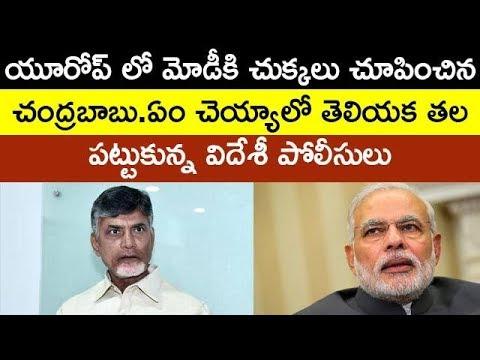 Telugu People Protest Against Modi In Europe