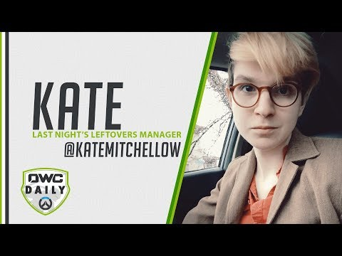 Interview With Kate Mitchell, Manager Of Last Night's Leftovers - Overwatch Contenders Daily
