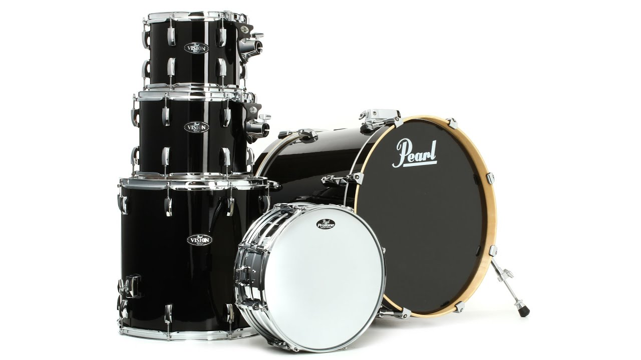 Pearl Vision Birch VBL 5 Piece Drum Kit Review