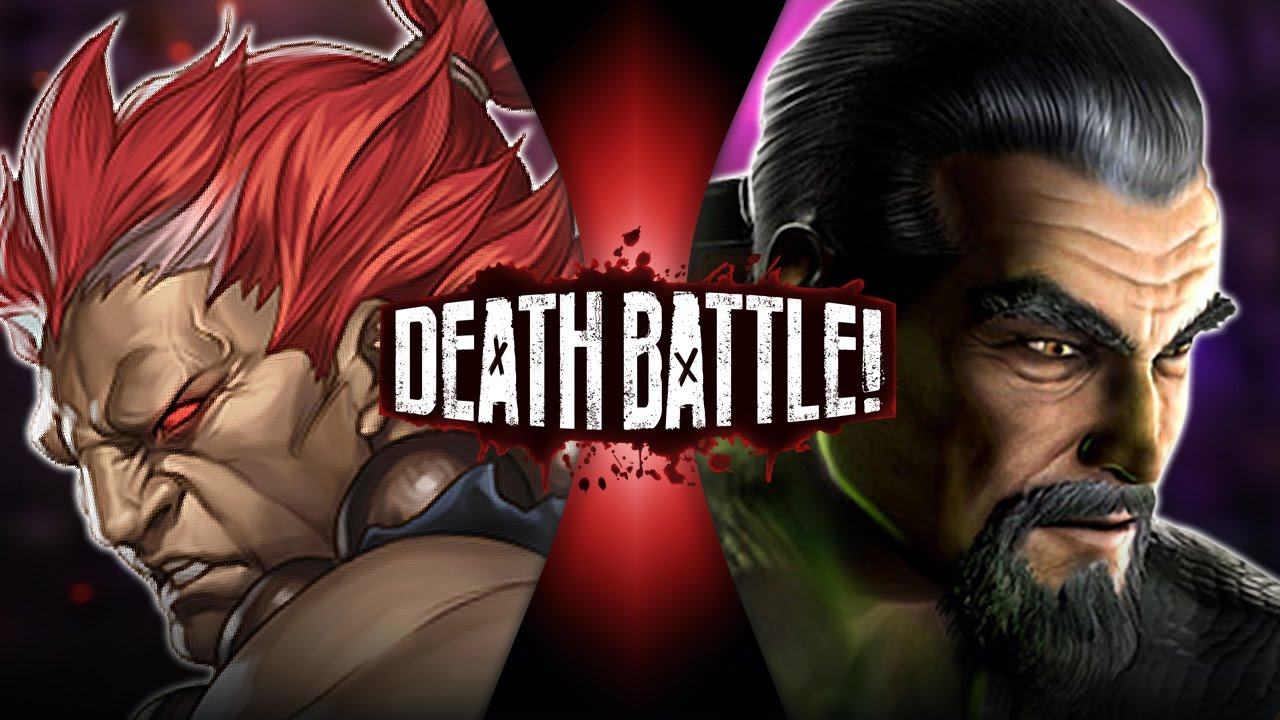 Akuma Vs Shang Tsung Street Fighter Vs Mortal Kombat