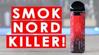 THE SENSE SIDEKIK POD IS A SMOK NORD KILLER! ✌️