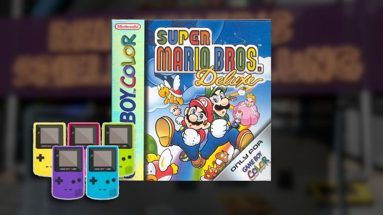 Game boy color super mario bros deluxe - Gameplay Super Mario Bros Deluxe Gameboy Color