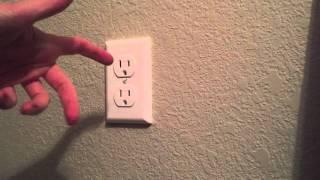 Shock Shutter- outlet cover