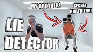 the most SHOCKING LIE DETECTER TEST with my BROTHER!!