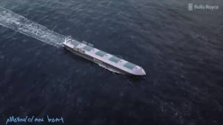 Rolls Royce Cargo Ships by 2020