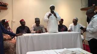 Exclusive video  Tinubu's foot solder Baba Eto Endorses jide Sanwoolu