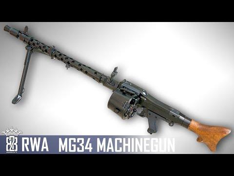 *Airsoft Review *  RWA MG34 MG   English Subtitles - Deutsch