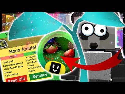 *LEGENDARY* SPROUT, 5x Moon Amulet & Grandmaster Badge!  Roblox Bee Swarm Simulator