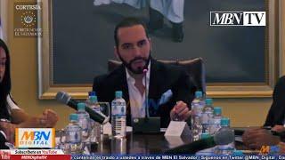 Presidente Nayib Bukele en Consejo de Ministros | Lunes 10 de Junio