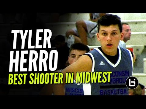 The Best Pure Shooter In The Midwest Is Tyler Herro! Future Wisconsin Badger