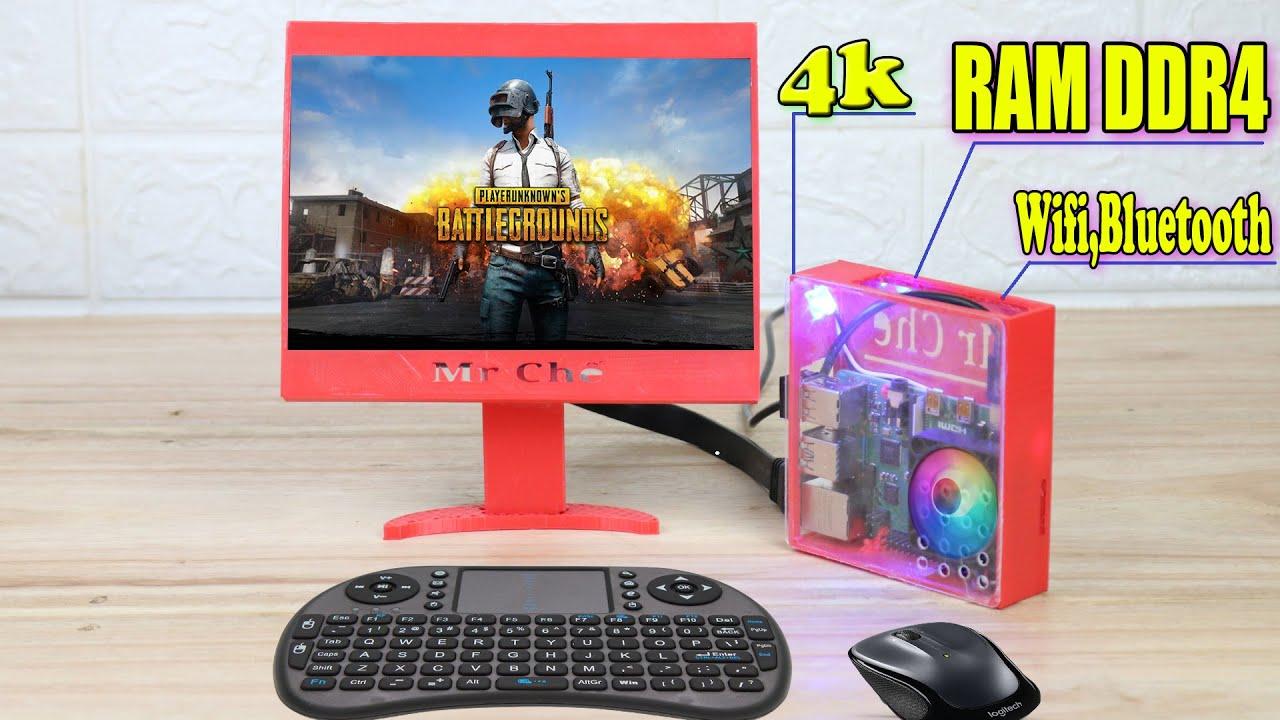 Chế Máy Tính PC Mini Cấu Hình Khủng - Raspberry Pi 4 Model B