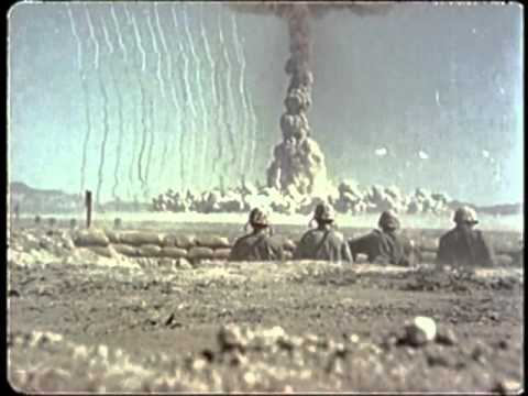 A-Bomb Test - Archive footage with original score