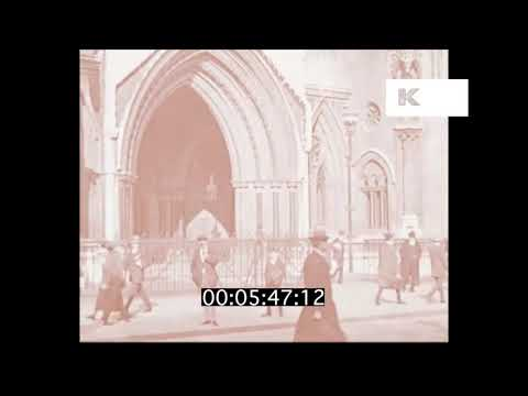 1910s Royal Courts of Justice, London, HD