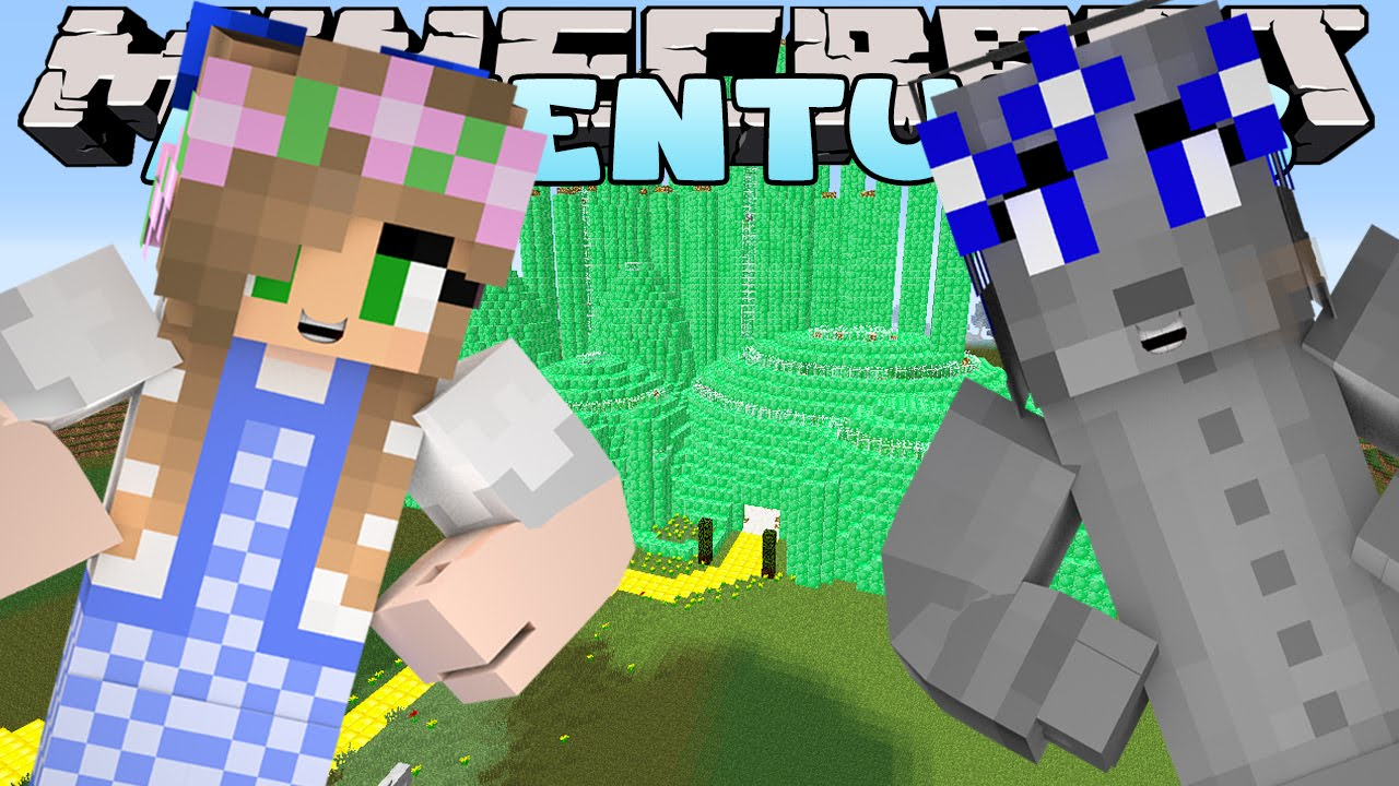 minecraft little kelly adventures going to meet the wizard of oz w