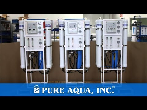 Tap Water Reverse Osmosis Machines Canada 2 X 9,000 GPD & 1 X 7,200 GPD   Www.PureAqua.com