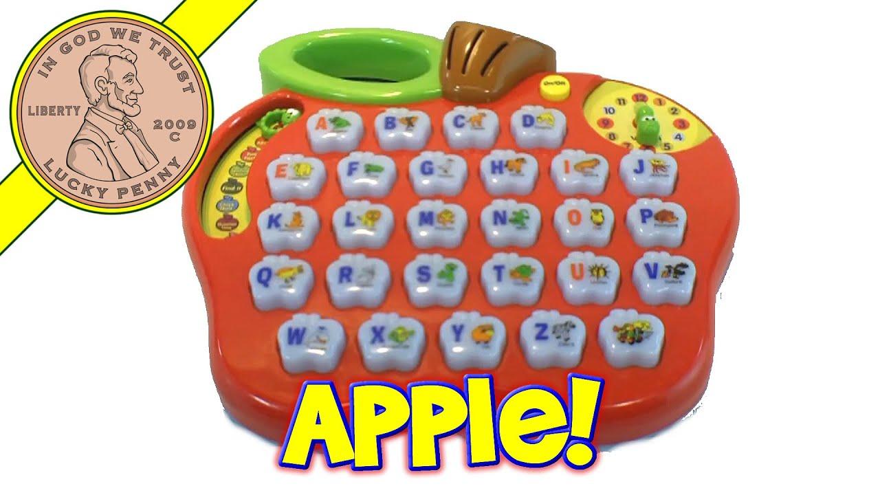 VTech Preschool Learning Alphabet Apple 26 Sounds Musical Time