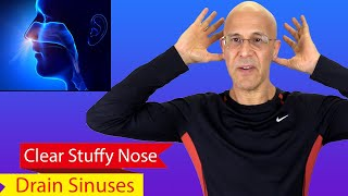 Clear Stuffy Nose & Drain Sinus in 30 Seconds   Dr. Mandell