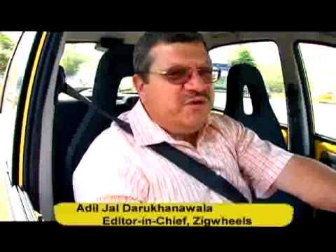 Tata Nano First Drive - ZigWheels Drives the Tata Nano !