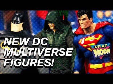 Unboxing DC Multiverse Action Figures From McFarlane Toys! - Up At Noon