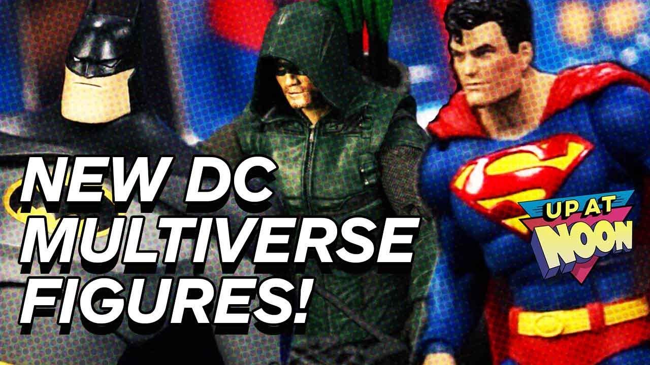 Unboxing DC Multiverse figuras de ação da McFarlane Toys! - Ao meio-dia + vídeo