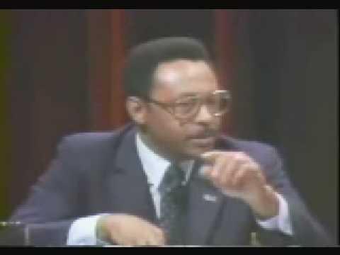Roland Burris in Illinois United States Senate Democratic Primary Debate - 1984