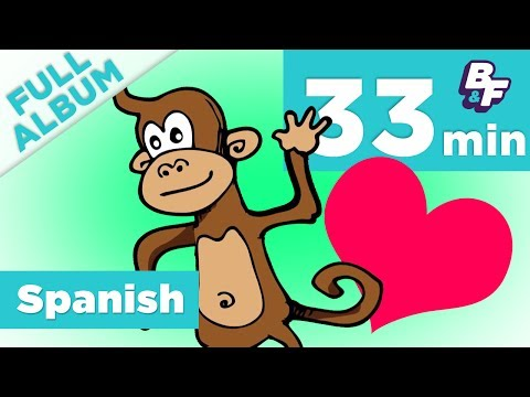 Learn Songs for Basic Spanish Words, Phrases, Days of the Week, and More | Aún Más Complete Album
