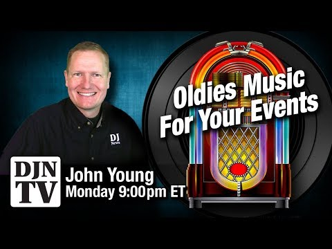 Oldies Music For Your Event | Live Chat with John Young | #DJNTV