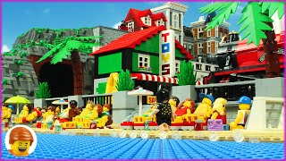 Lego Super Heroes Day Off - Beach Football