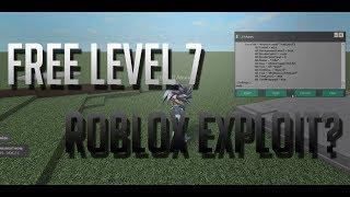 Free Lvl 7 Script Executor Roblox 2018