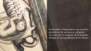 Restauración de libro de instrumental quirúrgico del siglo XVIII