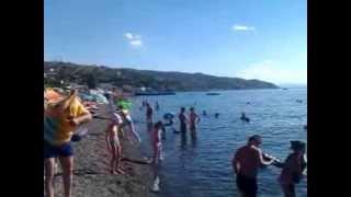 Солнечногорск,пляж,море.(видео, добавленное с мобильного телефона., 2013-08-03T08:53:27.000Z)