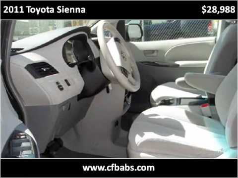 2011 Toyota Sienna Used Cars Engwood CO