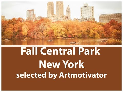 Fall Central Park New York - Best Places to Travel in the Fall