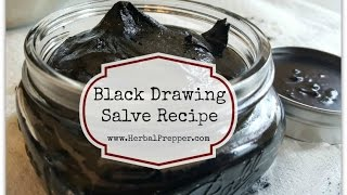 Simple Drawing Salve Recipe
