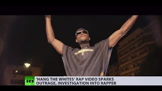 'Hang the whites' music video has French rapper under investigation, is he after publicity?